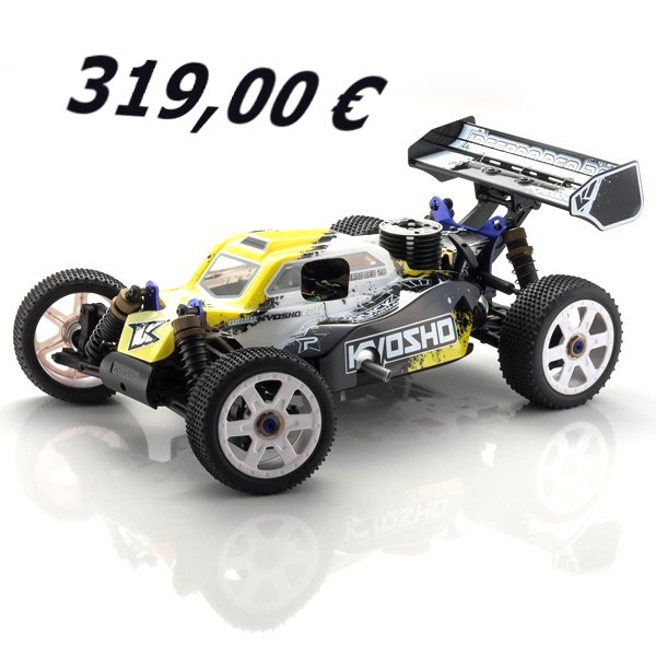 PACK KYOSHO INFERNO NEO 2.0 + KIT DE ARRANQUE